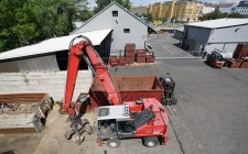 Bagger macht Pause